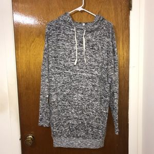 Express Plush Hooded Dress